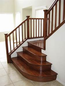 Wood Stairs - Traditional - Staircase - Las Vegas - by JD