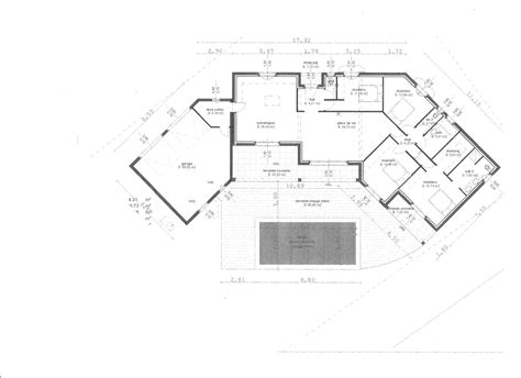 plan maison avec patio interieur plan de maison avec patio interieur interesting maison en u avec patio pu pinteresu plan maison