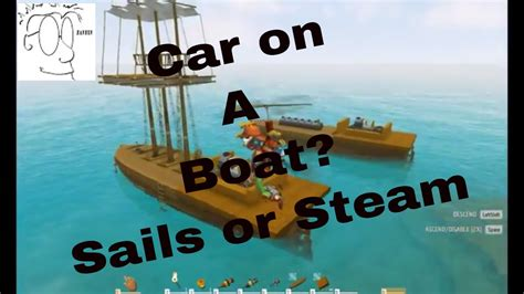 How To Make A Boat Ylands by Ylands Can You Put A Car On A Boat Test Take 2
