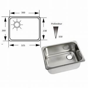 Petit évier Cuisine : accessoire bateau camping car vier rectangulaire inox de cuisine ~ Preciouscoupons.com Idées de Décoration