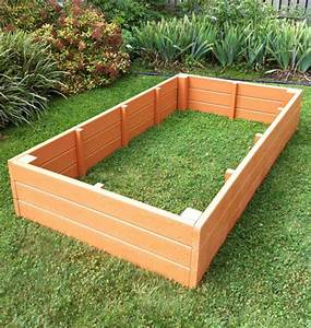 Recycled Plastic Raised Garden Bed