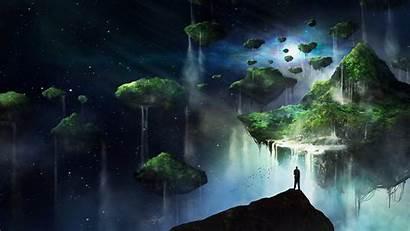 Floating Fantasy Islands Island Wallpapers Digital Bit