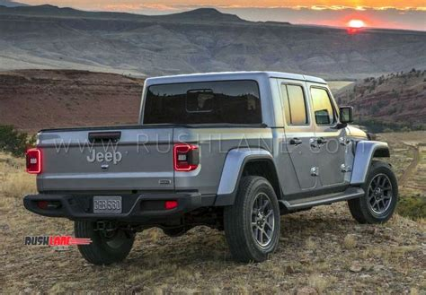 Jeep Gladiator Suv Debuts With 282 Mm Gc