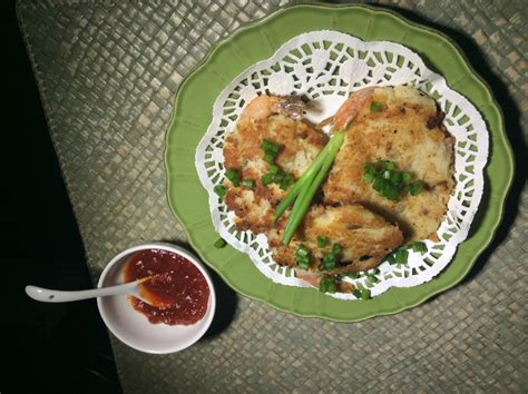 Can be served as an appetizer, side dish or even a light i have a newfound love. Shrimp Potato Pancake Recipe by Rene - CookEatShare