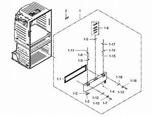 Samsung Rf28hmedbsr  Aa Pantry Drawer Door