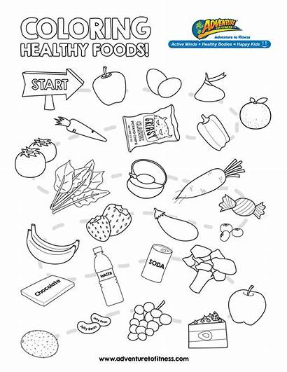 Healthy Coloring Pages Kindergarten Health Nutrition Worksheet