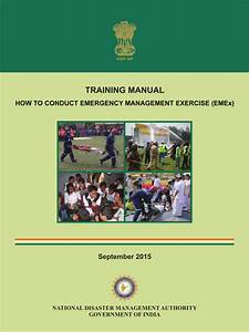 Training Manual U2014how To Conduct Emergency Management