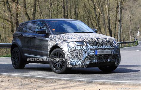2020 Land Rover Range Rover Evoque Spy Shots