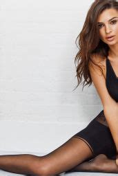 Emily Ratajkowski - Spring 2018 Intimates Campaign DKNY ...