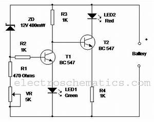 battery level monitor circuit circuit diagram world With com electronic circuits lm3914 12v battery monitor circuit
