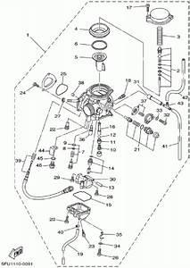 Yamaha Big Bear 400 Carburetor