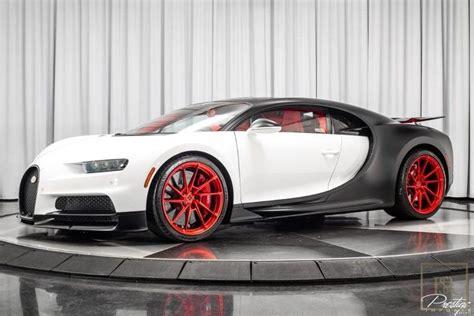 Der chiron sport ist bugatti's atemberaubende neuinterpretation des ultimativen supersportwagens. Used 2019 Bugatti Chiron white 446 Miles for sale | For Super Rich