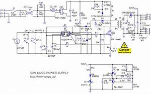 Power Supply Schematic 12v In 2020