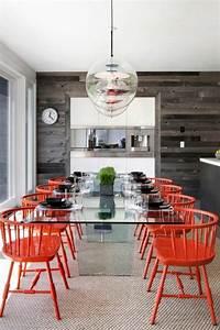 chaise plastique salle a manger idees de decoration With salle a manger plastique