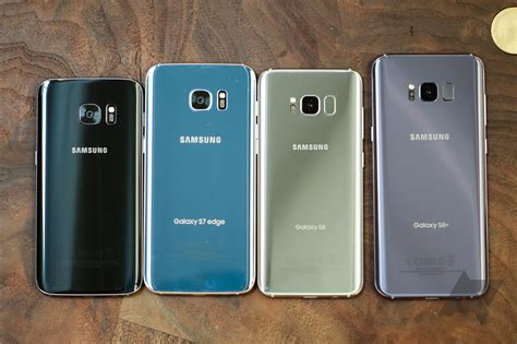 Galaxy S7 and S7 edge vs Galaxy S8 and Galaxy S8+: Photos