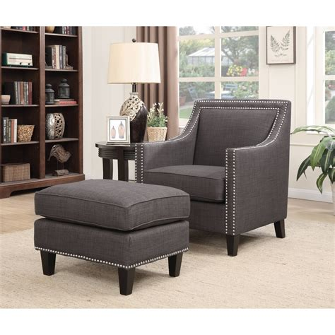 Chair With Ottoman by Picket House Emery Accent Chair With Ottoman Walmart