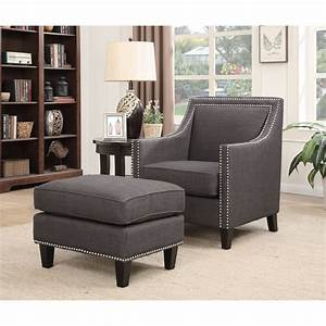 Picket, House, Emery, Accent, Chair, With, Ottoman