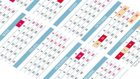 ¿te ha gustado nuestro sitio web? Calendario laboral 2021 Catalunya: dos macropuentes por la Purísima y el Pilar