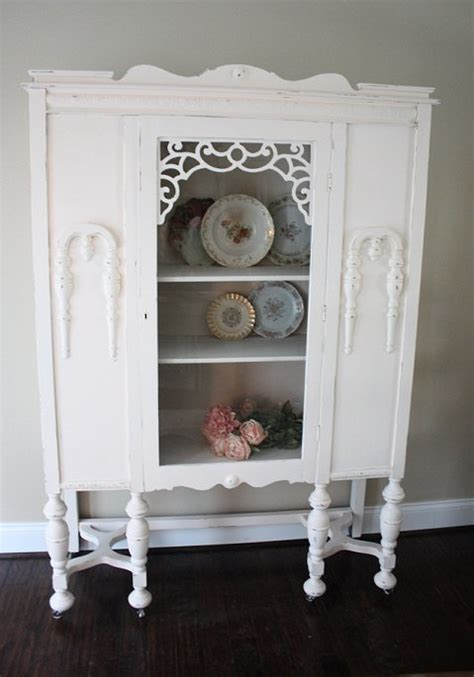 etsy shabby chic furniture antique shabby chic furniture china cabinet by tootyb on etsy 300 00 old stuff i like