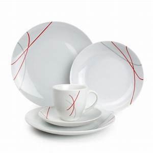 Service Vaisselle Complet Pas Cher : service de table 30 pieces pas cher ~ Teatrodelosmanantiales.com Idées de Décoration