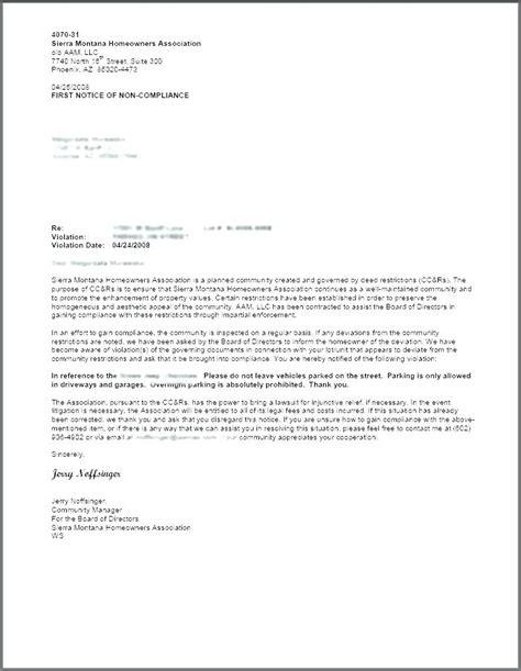 notice  lease violation letter mysafetglovescom