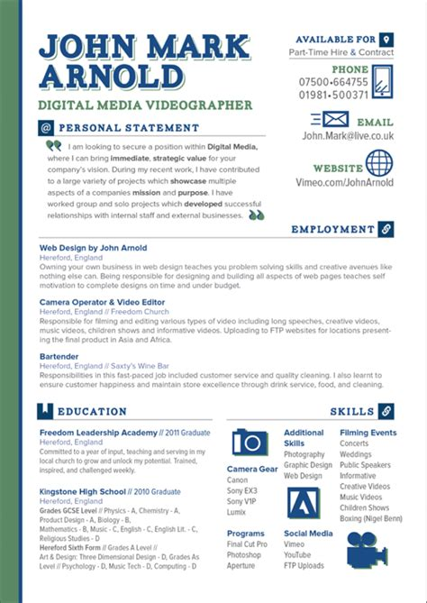 cv resume design personal and client on behance