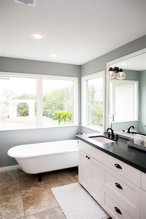 fixer uppers  bathroom flips cottage granite