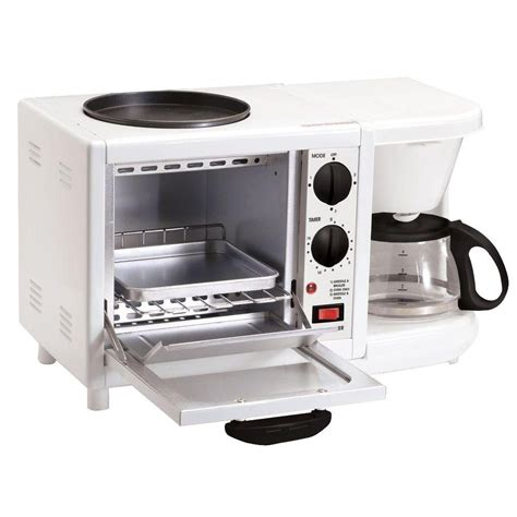 coffee maker toaster oven hamilton black toaster oven 31100 the home depot