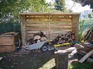 Bucher A Bois : maison bois chauffage au bois notre maison ossature bois ~ Edinachiropracticcenter.com Idées de Décoration
