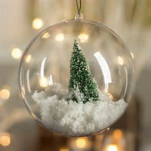 136mm clear acrylic fillable ball ornament christmas ornaments christmas and winter