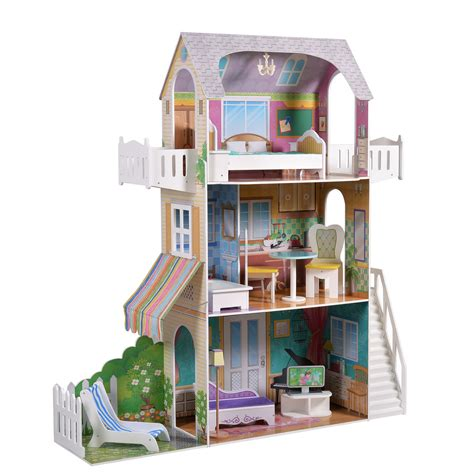 18 doll house teamson garden view estate doll house for 18 inch dolls
