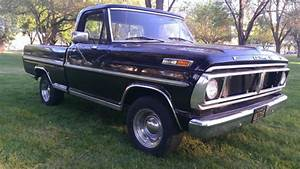 1970 Ford F-100 Sport Custom Shortbed