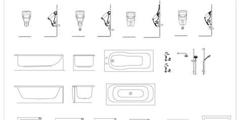 cad blocks bathroom details   architecture
