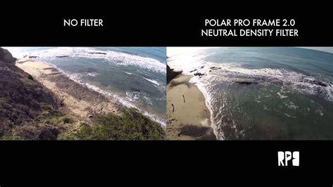 polar pro gopro frame    polarizer filter test part  youtube