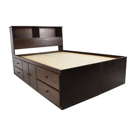 king captain bed frame amazing bookcase bed bookcase bed