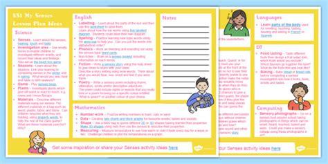 My Senses Ks1 Lesson Plan Ideas  Lesson Plan, Ks1, Senses