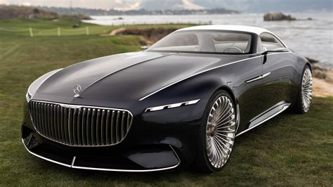 2018 Vision Mercedes Maybach 6 Cabriolet 2 4k Wallpaper