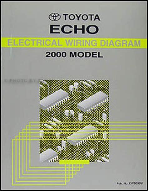 2000 Toyotum Echo Fuse Box by 2000 Toyota Echo Wiring Diagram Manual Original