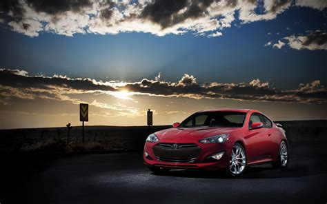 2013 Hyundai Genesis Coupe 2 Wallpaper