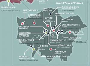 Us Maps That Can Be Edited Free Designer Creates Map Of Tv Shows Set In London Londonist
