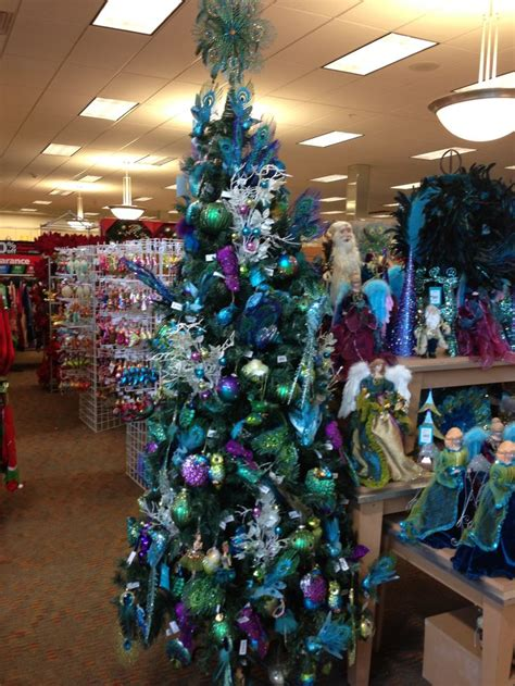 peacock decorations at bealls florida a peacock
