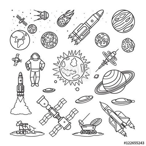 17 Best Ideas About Astronaut Drawing On Pinterest