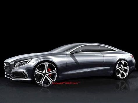design sketches  mercedes benz  class coupe concept