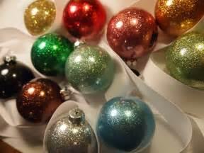 handmade glittered bauble ornament tutorial random creativity