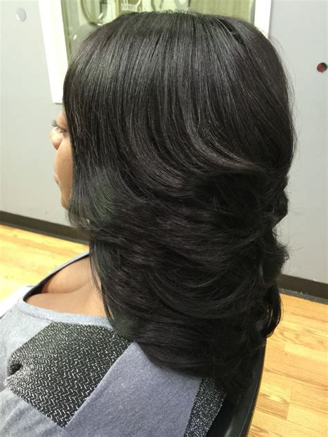 how to do weave hair styles quick layered sew in 2020