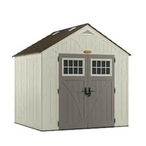 suncast tremont 174 8 x 7 storage building at menards 174