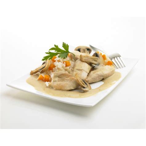 plat cuisiné regime blanquette de poulet plat cuisiné régime minceur edel