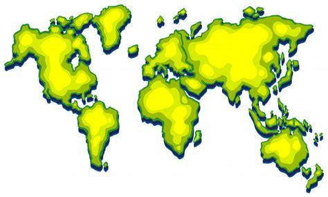 Photo Carte Du Monde A Telecharger by Carte Du Monde Avec La Terre Verte Sur Fond Blanc