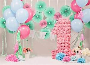 2018 7x5ft Baby'S 1st Birthday Photography Backdrops ...