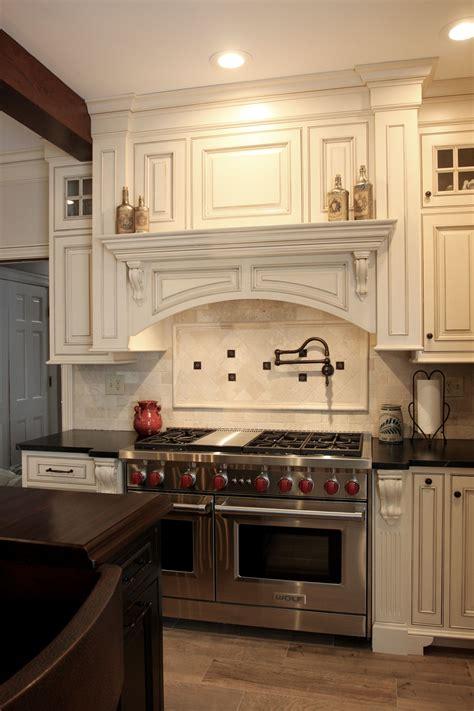 mantle wood hood leesburg va kitchen kitchen design